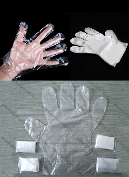 Plastic Disposable Hand Gloves Veterinary Hand Gloves